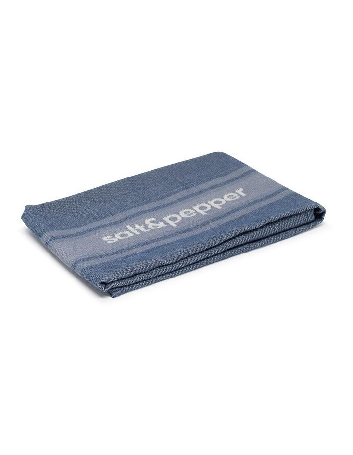 Cape Tea Towel - 70cm - Dusty Blue image 3
