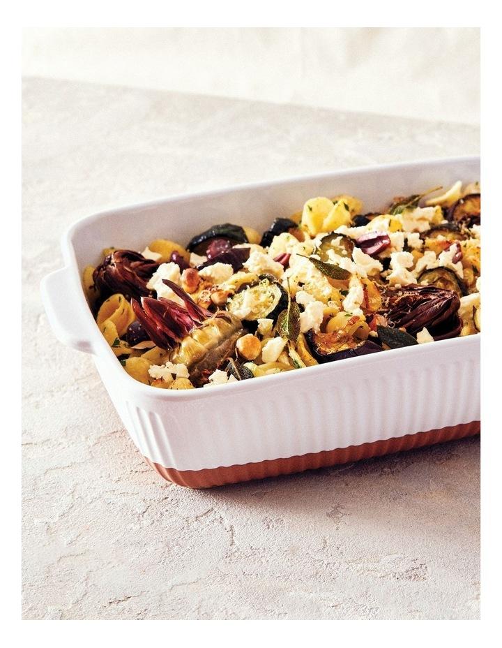 Amana Rectangle Baking Dish - 37cm - White image 2
