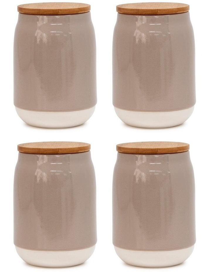BEACON Canister - 15cm - Latte - Set of 4 image 1