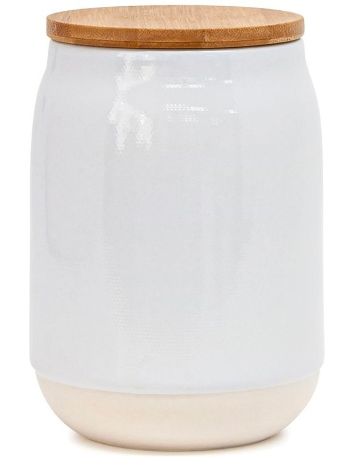 BEACON Canister - 15cm - White - Set of 4 image 2