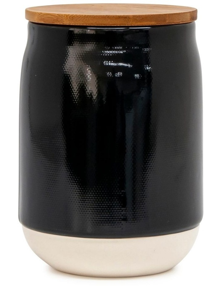 BEACON Canister - 17cm - Black - Set of 4 image 2