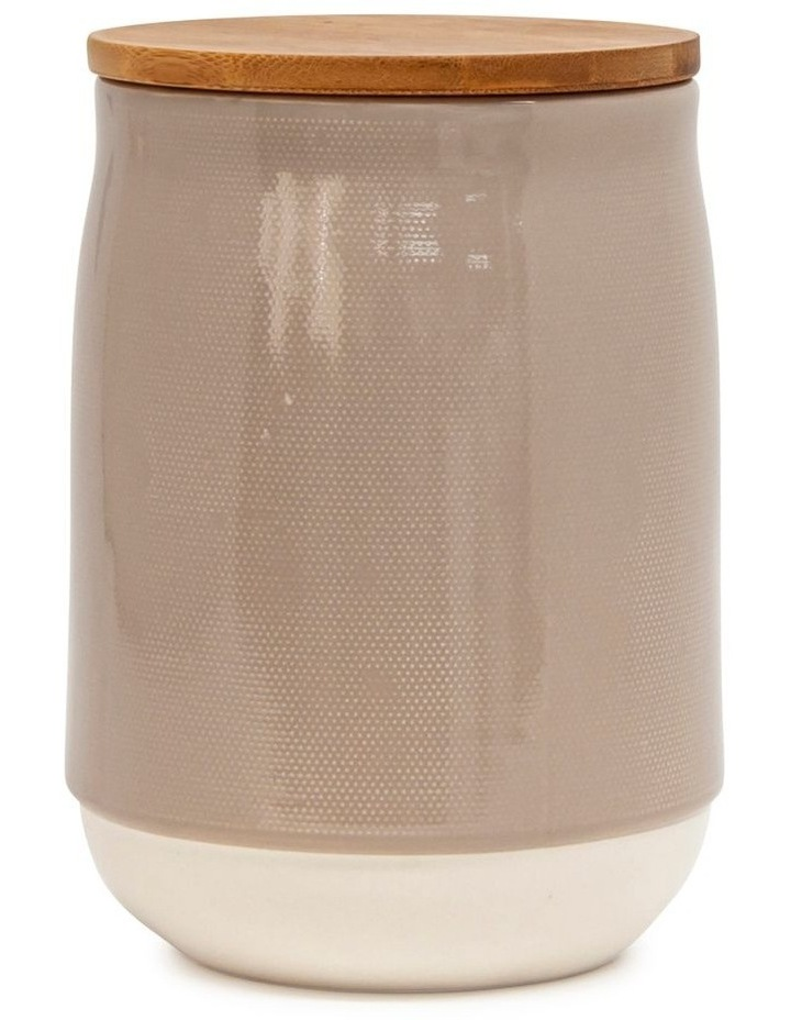 BEACON Canister - 17cm - Latte - Set of 4 image 2