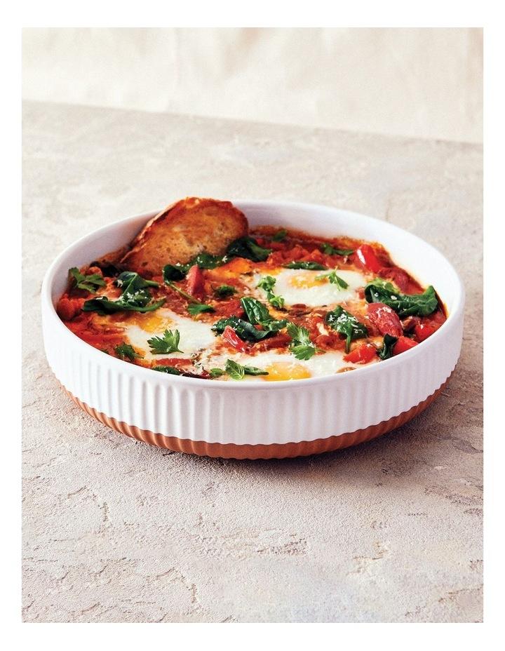 Amana Round Pie Dish - 24cm - White image 2