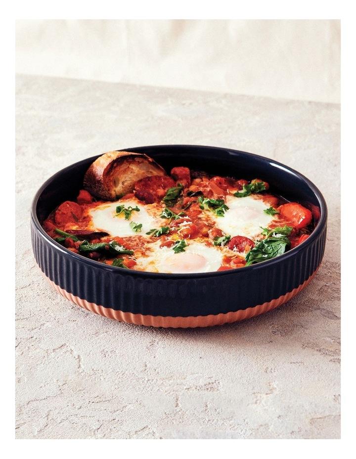 Amana Round Pie Dish - 24cm - Black image 2
