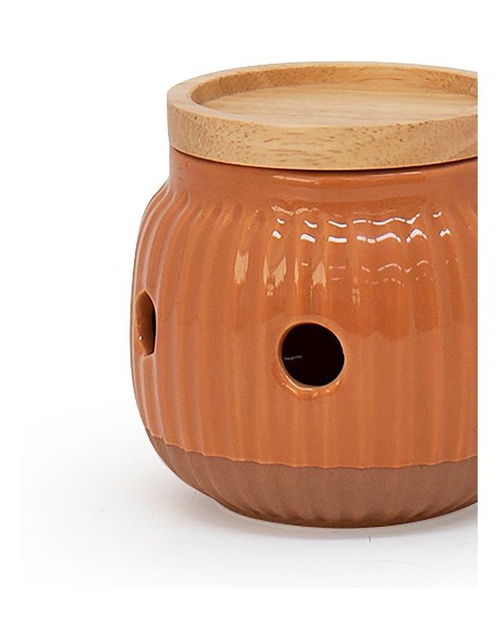 Amana Garlic Keeper - 9.5cm - Burnt Orange image 2