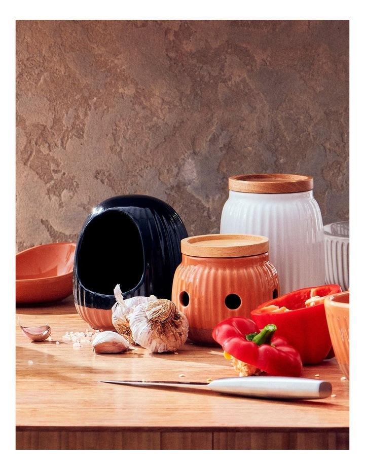Amana Garlic Keeper - 9.5cm - Burnt Orange image 3