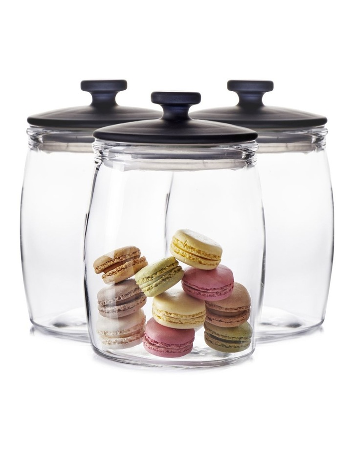 BEACON Canister Set - 17cm - Glass - 3-Piece image 6