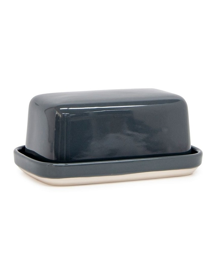 Beacon 17cm Butter Dish in Grey image 1