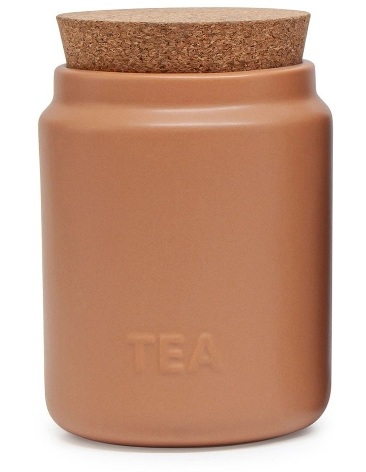 Strand Canister - 13cm - Set Of 3 - Clay image 2