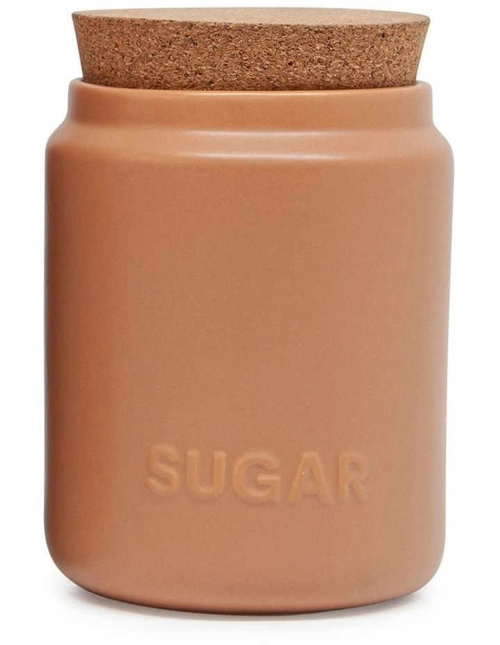 Strand Canister - 13cm - Set Of 3 - Clay image 4