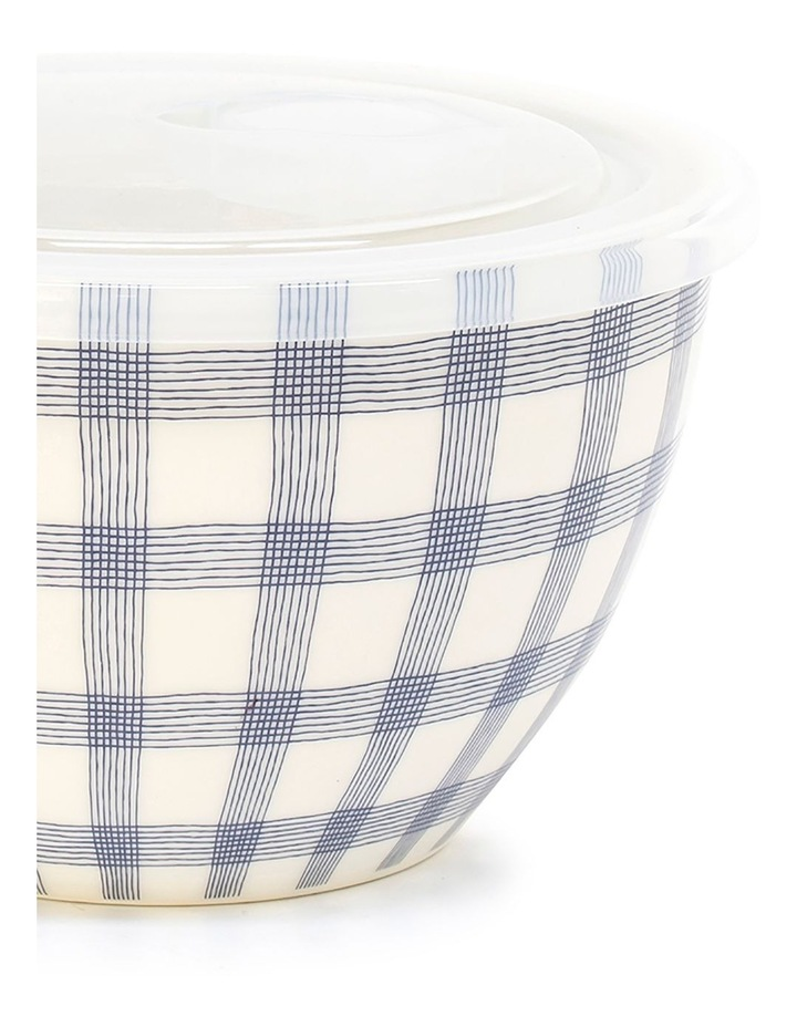Lunch2Go 15cm Bowl With Lid in Blue Gingham image 2