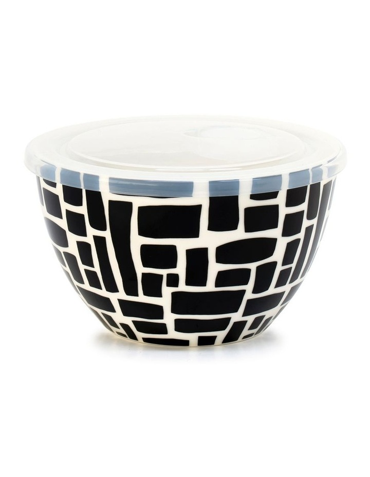 Lunch2Go 15cm Bowl With Lid in Black Lane image 1