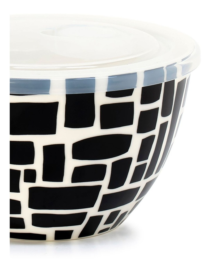 Lunch2Go 15cm Bowl With Lid in Black Lane image 2