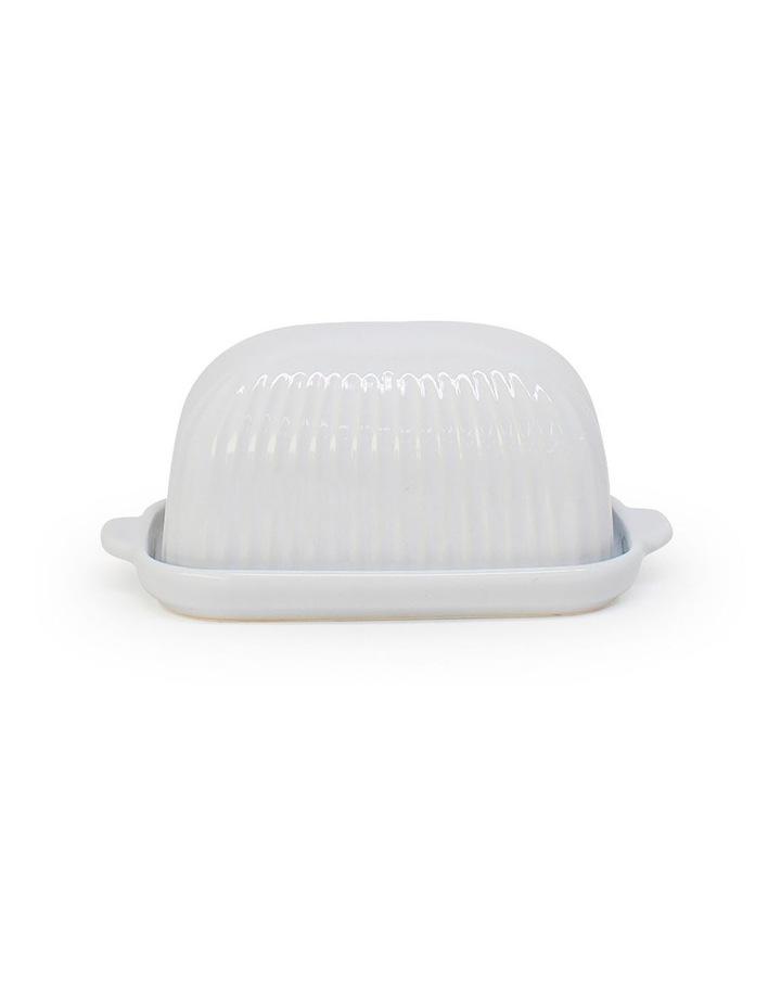 Amana Butter Dish - 19cm - White image 1