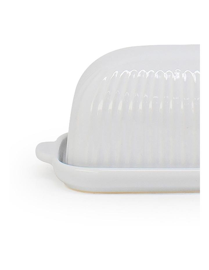 Amana Butter Dish - 19cm - White image 2