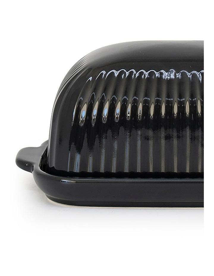 Amana Butter Dish - 19cm - Black image 2