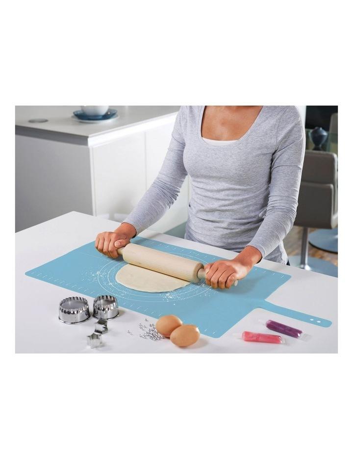 Joseph Joseph Rollup Silicone Pastry Mat - Blue image 3