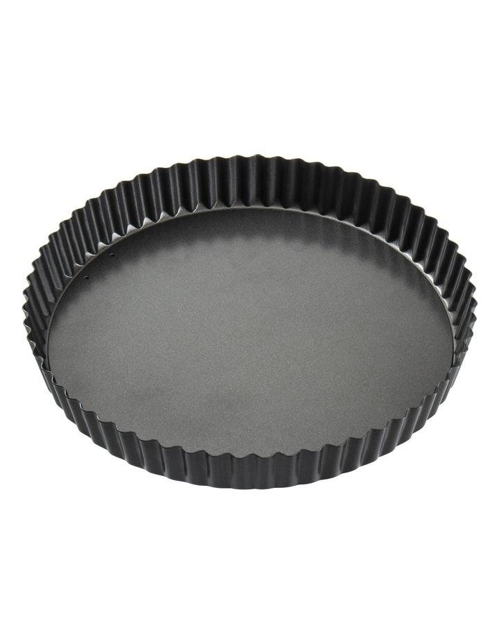 Non-Stick Loose Base Round Quiche Tin  25x3.5cm image 1