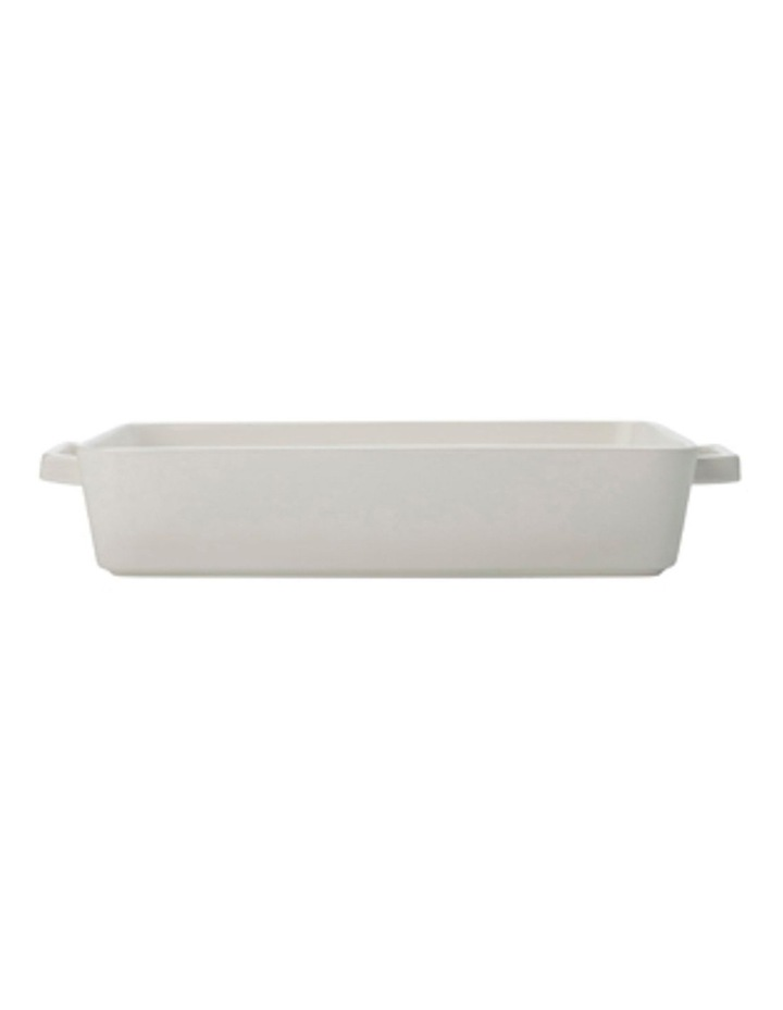 Epicurious Rectangle Baker 32x22.5x7cm White Gift Boxed image 1