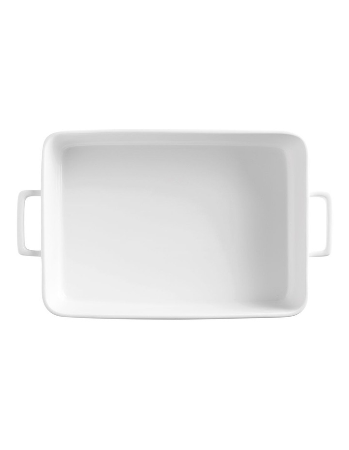 Epicurious Rectangle Baker 32x22.5x7cm White Gift Boxed image 2
