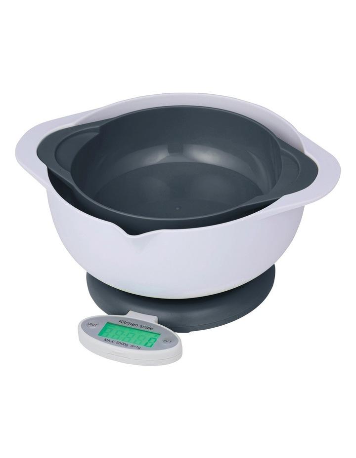 Leto Double Bowl Electronic Kitchen Scale 5kg/1g image 1