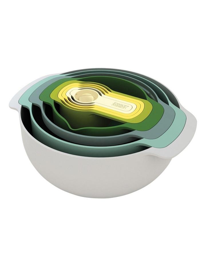 Nest 9 Plus 9pc Mixing Bowl Set - Opal image 1