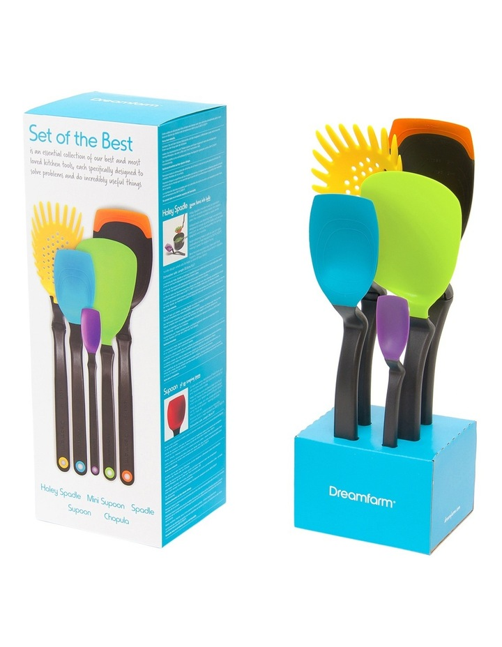 Set of the Best - Party Mixed colours essential set of kitchen tools Assorted image 4