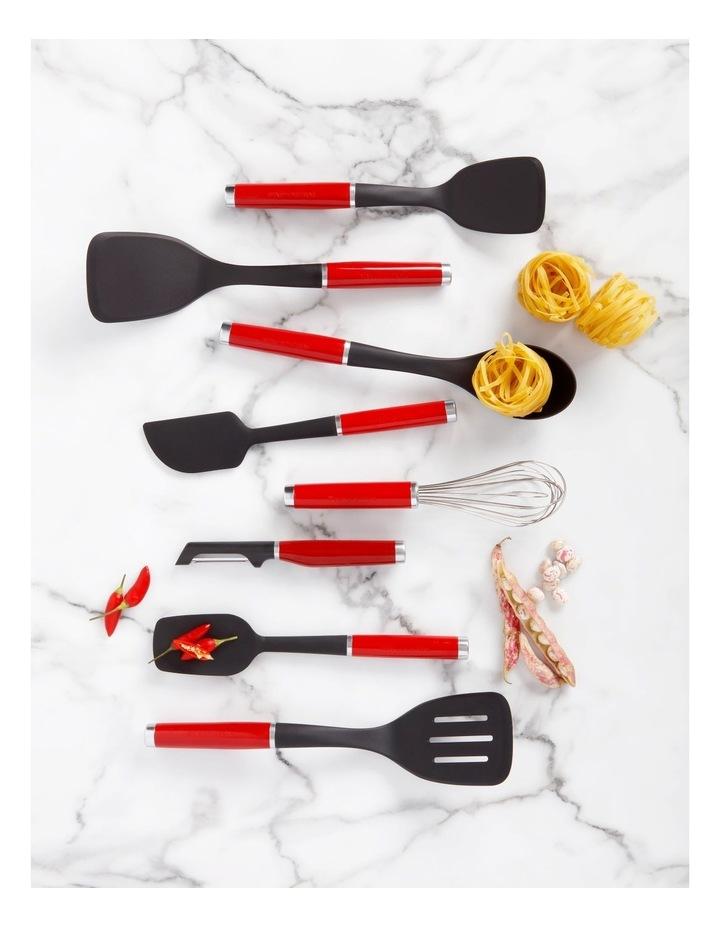 Classic Spoon Spatula Silicone Red image 2
