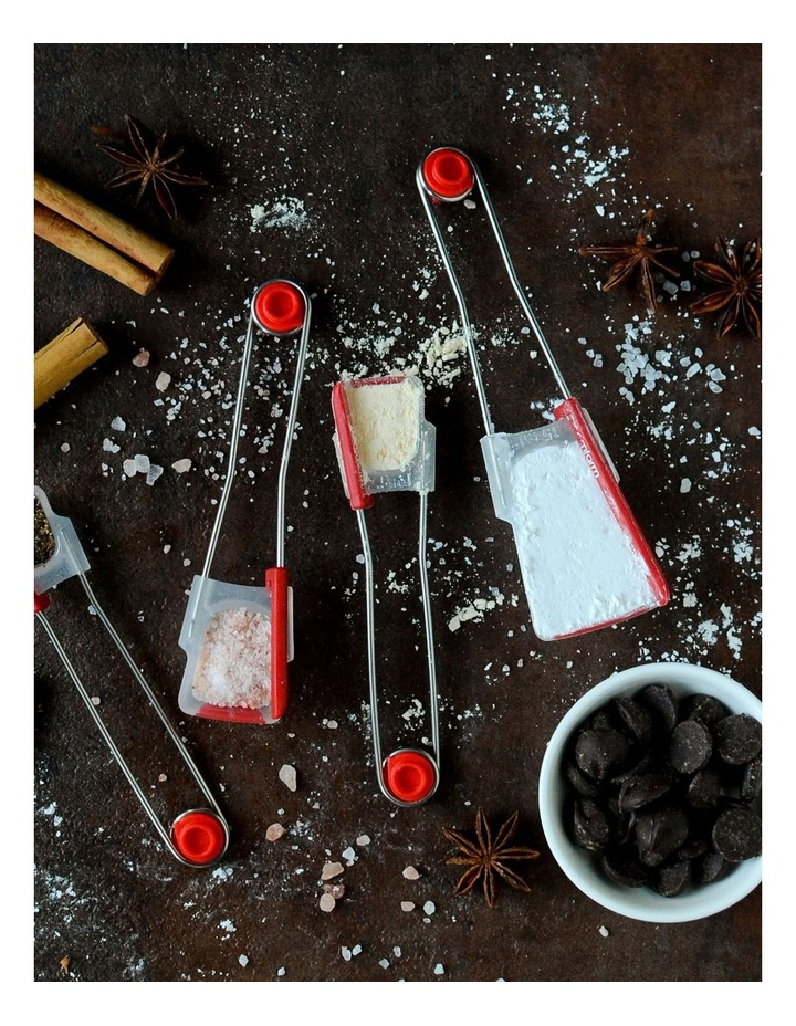 Levoons Measuring Spoons Red image 7