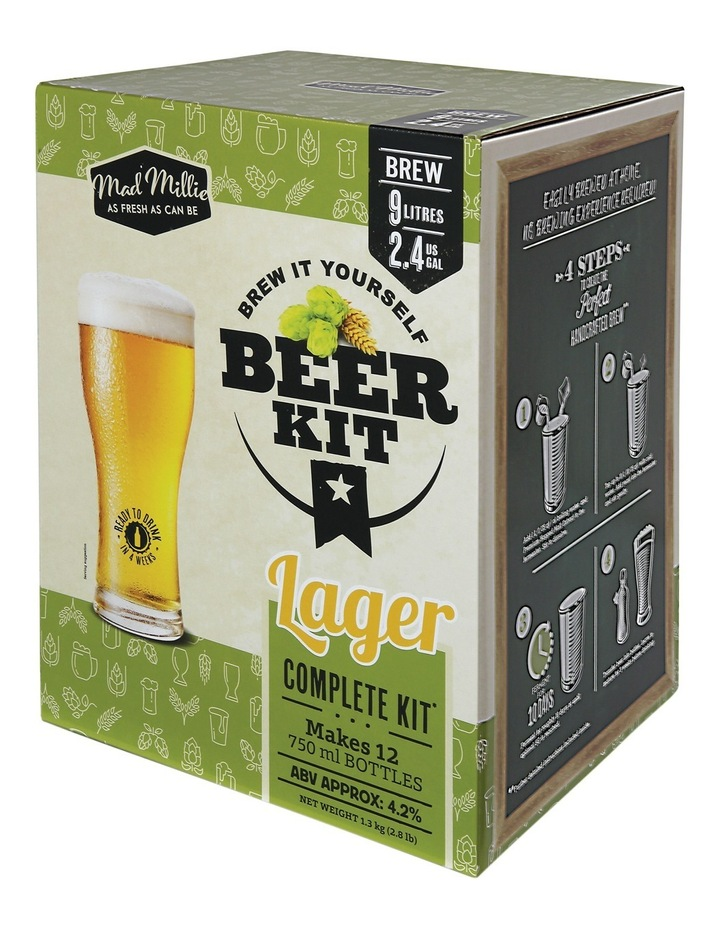Boutique Brewery Lager kit image 2