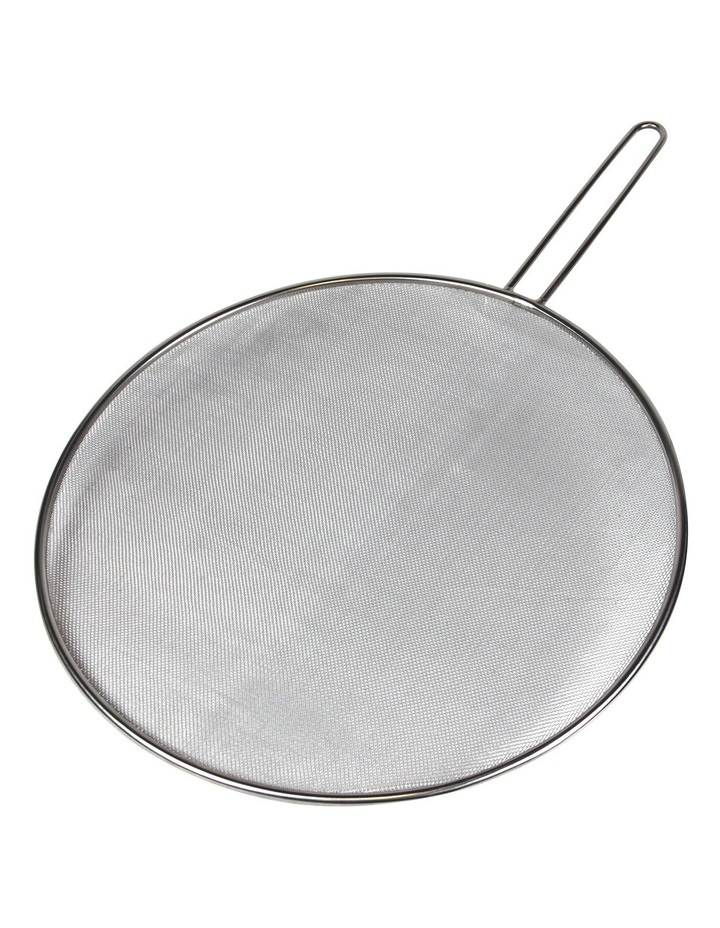 Stainless Steel Splatter Screen with Wire Handle  33cm image 1