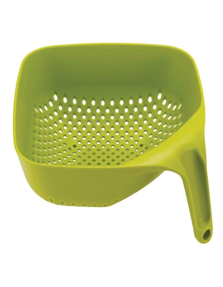 Square Colander Medium - Green image 1