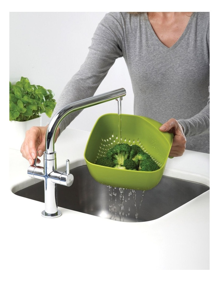 Square Colander Medium - Green image 3
