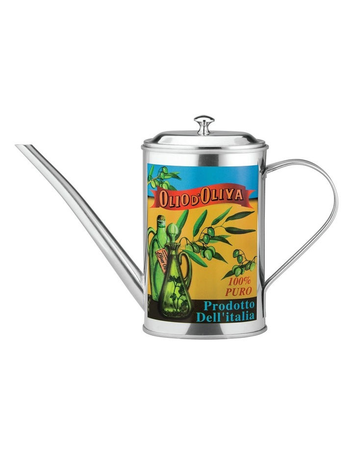 Lazio Stainless Steel Decorative Oil Can  500ml image 1