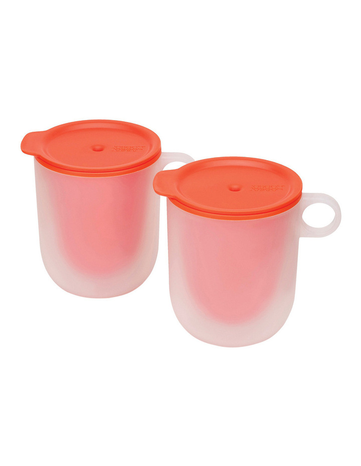 M Cuisine - Set of 2 Microwave Cool Touch Mugs image 1