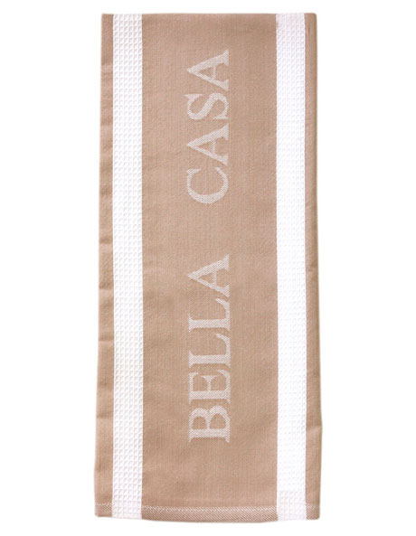 Bella Casa Latte Kitchen Towel image 1