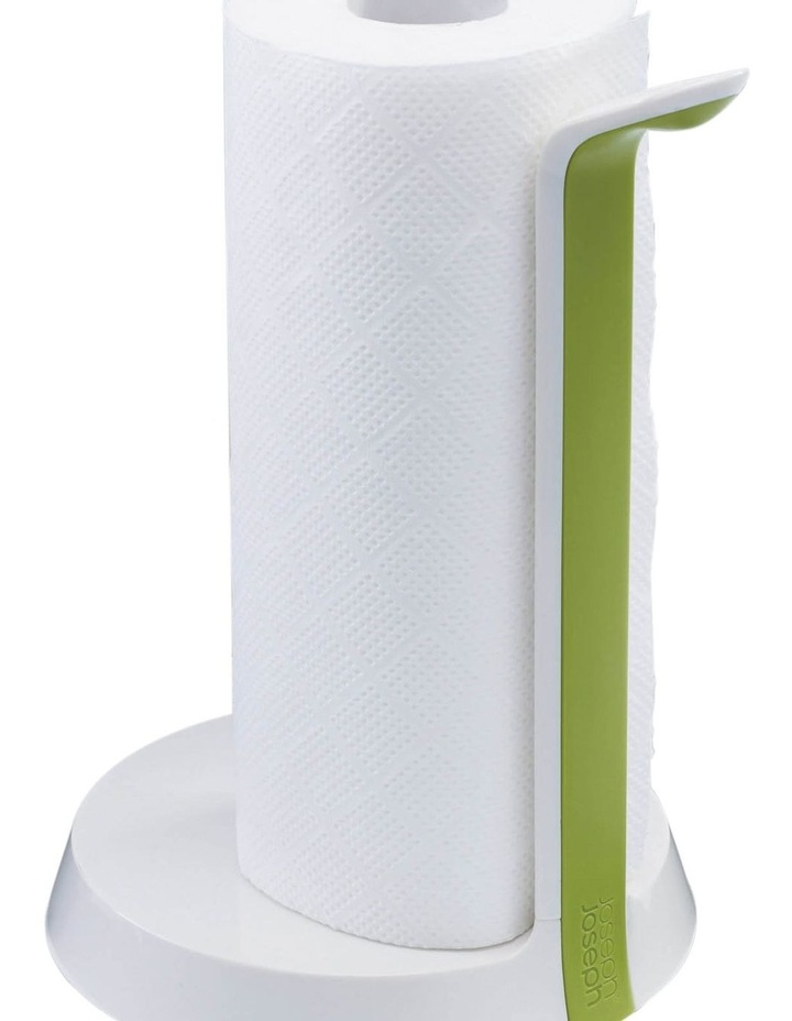 Easy Tear Kitchen Roll Holder - White/Green image 8