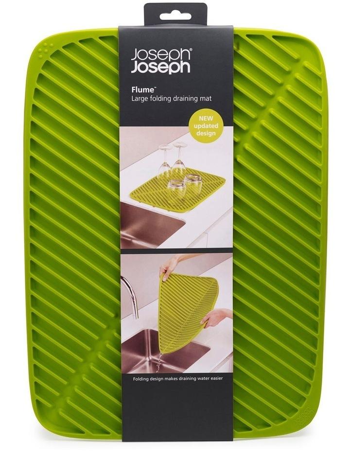 Joseph Joseph Flume Draining Mat Green image 1