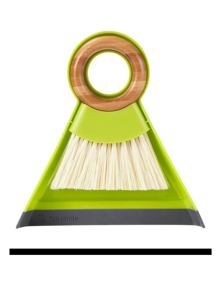 Tiny Team Mini Dustpan,Brush Set Green image 1