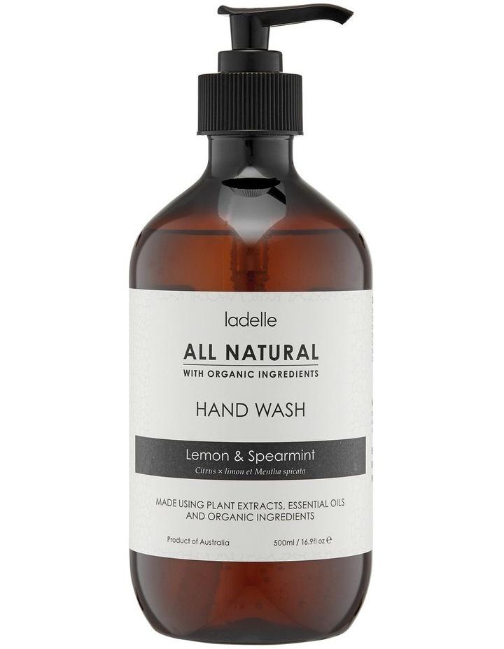 Lemon & Spearmint 500ml H/Wash image 1