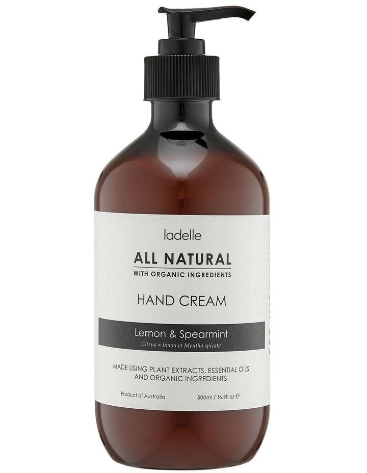 Lemon & Spearmint 500ml H/Cream image 1