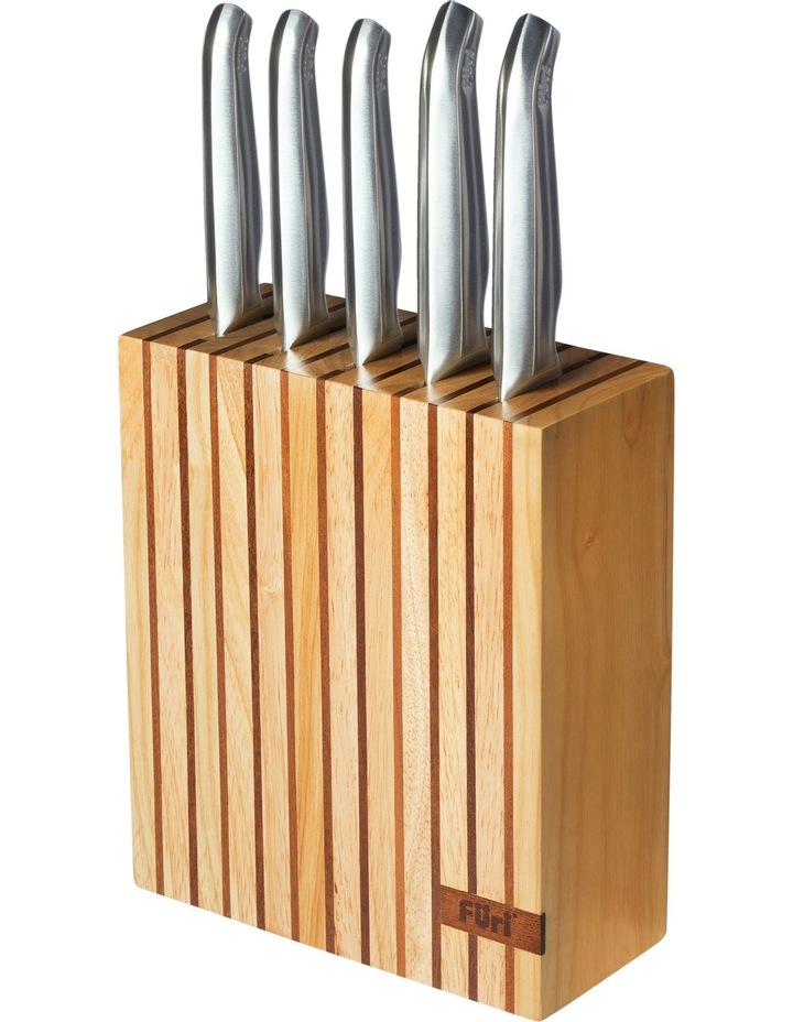 Clean Store Acacia Knife Block - 7 Piece Set image 1