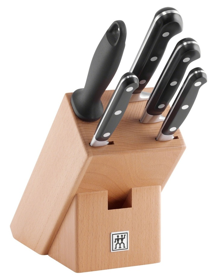 Professional S Knife Block  6 Piece Set image 1