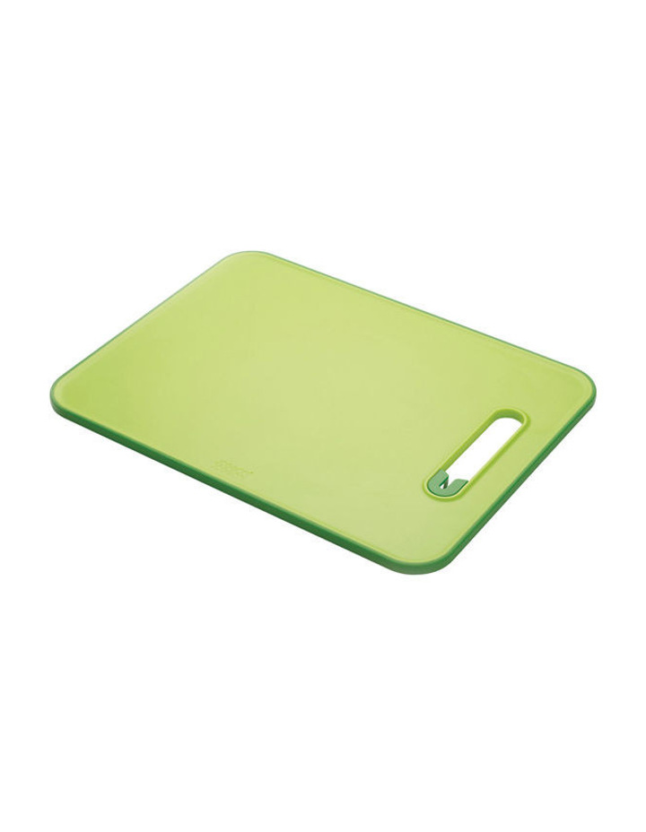 Slice&Sharpen Chopping Board with Integrated Knife Sharpener - Green image 1