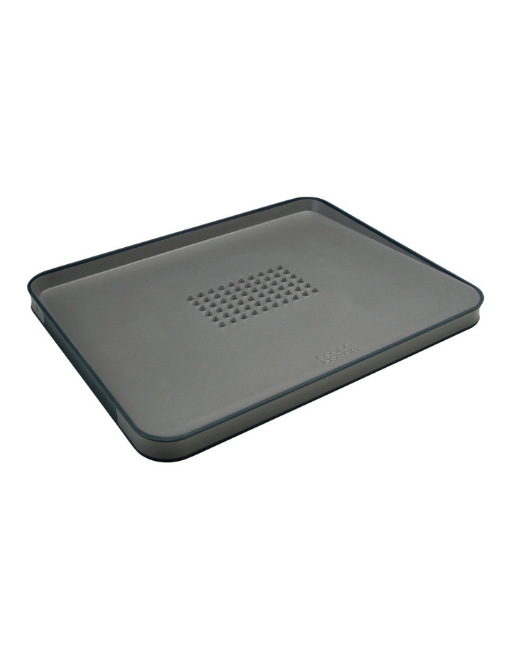 Cut&Carve Non-slip Multi-function Chopping Board - Grey image 1