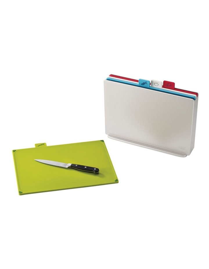 index Regular Set of Colour-Coded Chopping Boards with Storage Case image 2