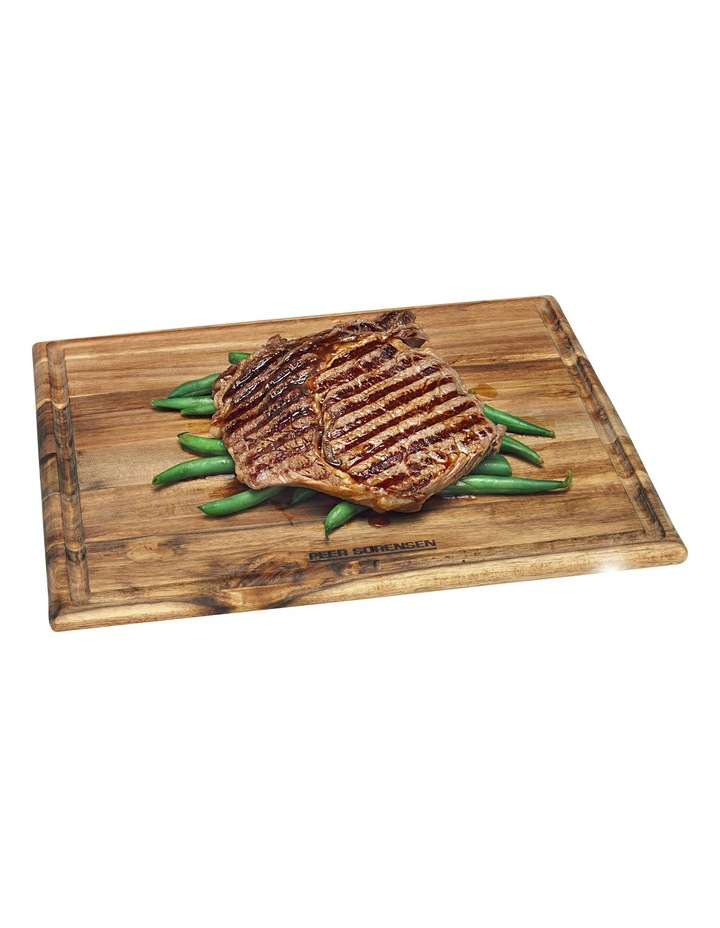 Acacia Wood Steak Serving Board image 1