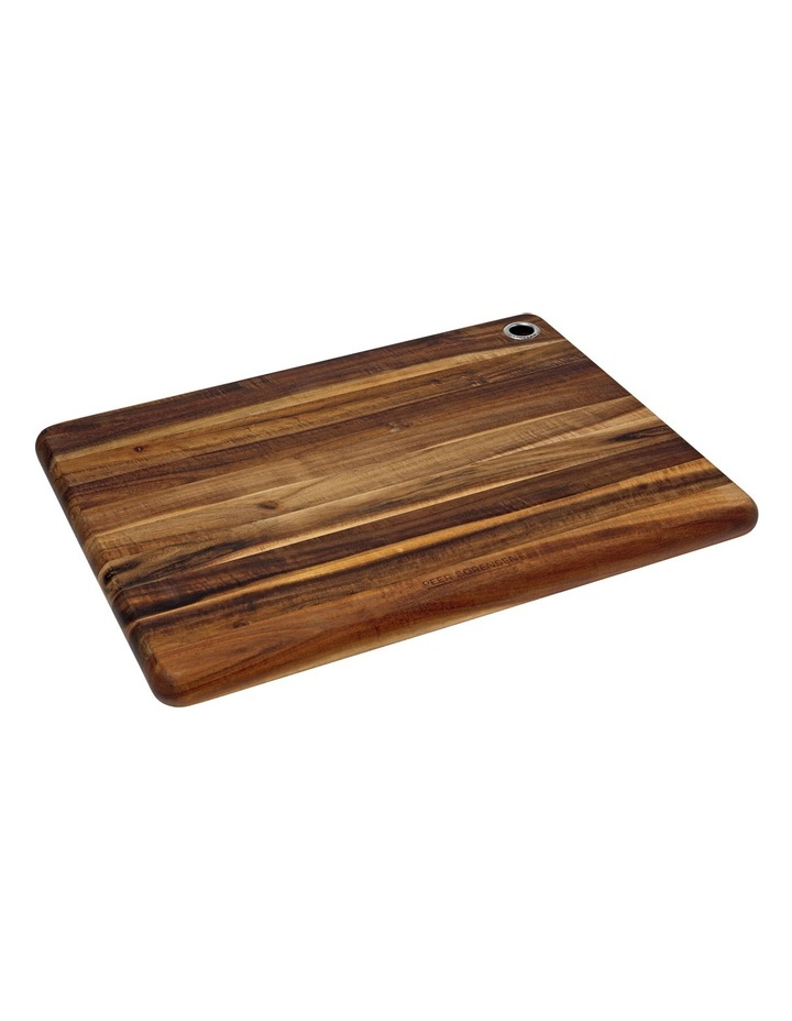 Acacia Wood Long Grain Cutting Board image 1