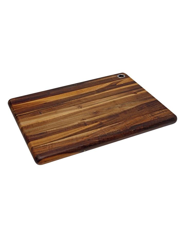 Acacia Wood Long Grain Cutting Board image 1