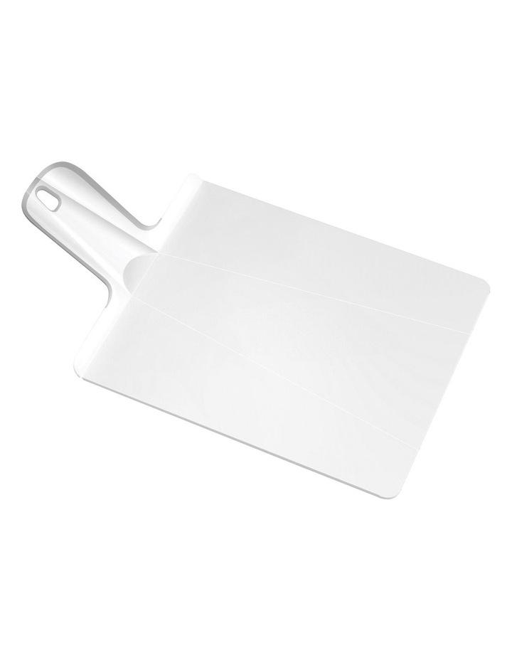 Chop2Pot Plus Folding Chopping Board - White image 1